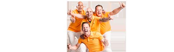 Andy van der Meijde en John Denies hebben een WK hit